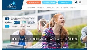 Site sur les concours d'école de commerce à Paris