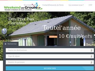 weekend-en-groupe.fr : voyages et séjours en groupe